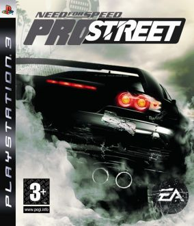 Copertina del gioco Need for Speed Pro Street per PlayStation 3