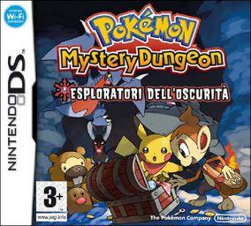 Immagine della copertina del gioco Pokemon Mystery Dungeon: Esploratori dell'Oscurita' per Nintendo DS