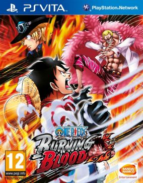 Copertina del gioco One Piece: Burning Blood per PSVITA