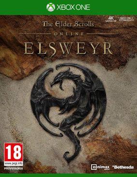 Copertina del gioco The Elder Scrolls Online: Elsweyr per Xbox One