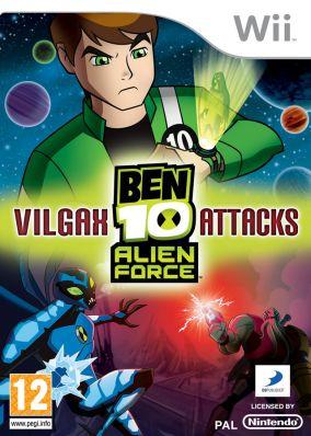 Immagine della copertina del gioco Ben 10: Alien Force: Vilgax Attacks per Nintendo Wii