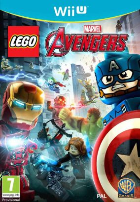 Copertina del gioco LEGO Marvel's Avengers per Nintendo Wii U