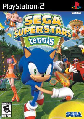 Copertina del gioco Sega Superstars Tennis per PlayStation 2
