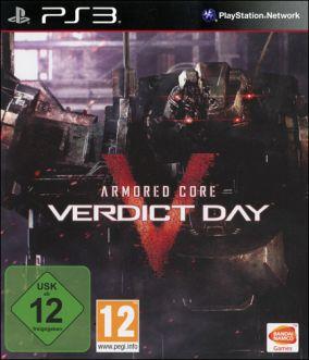 Copertina del gioco Armored Core: Verdict Day per PlayStation 3
