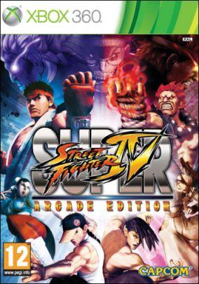 Copertina del gioco Super Street Fighter IV: Arcade Edition per Xbox 360