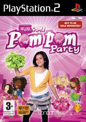 Copertina del gioco Eye Toy: Play PomPom Party per PlayStation 2
