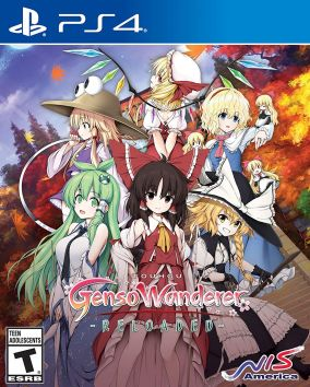 Copertina del gioco Touhou Genso Wanderer Reloaded per Playstation 4