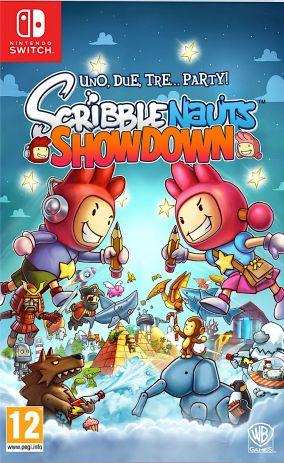 Copertina del gioco Scribblenauts: Showdown per Nintendo Switch