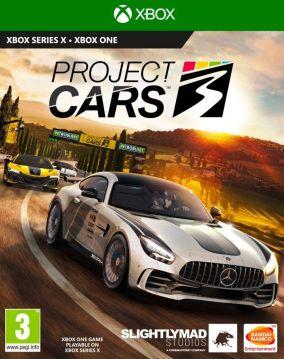 Copertina del gioco Project CARS 3 per Xbox One