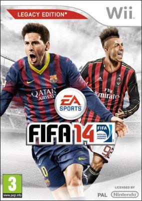 Immagine della copertina del gioco FIFA 14 per Nintendo Wii