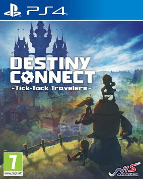 Copertina del gioco Destiny Connect: Tick-Tock Travelers per PlayStation 4