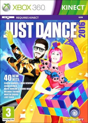 Copertina del gioco Just Dance 2016 per Xbox 360