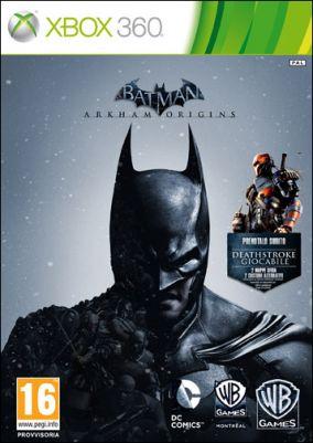 Copertina del gioco Batman: Arkham Origins per Xbox 360