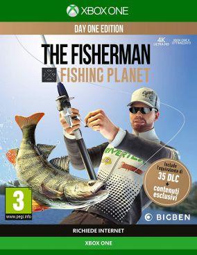 Copertina del gioco The Fisherman - Fishing Planet per Xbox One