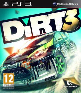 Copertina del gioco DiRT 3 per PlayStation 3