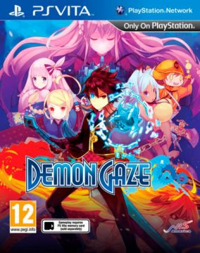 Immagine della copertina del gioco Demon Gaze per PSVITA