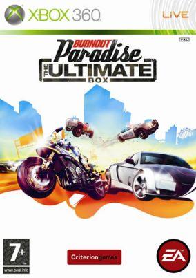 Copertina del gioco Burnout Paradise: The Ultimate Box per Xbox 360