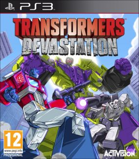 Copertina del gioco Transformers: Devastation per PlayStation 3