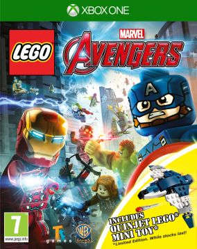 Immagine della copertina del gioco LEGO Marvel's Avengers per Xbox One