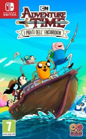 Immagine della copertina del gioco Adventure Time: i Pirati dell'Enchiridion per Nintendo Switch