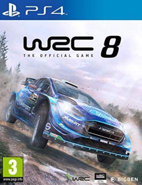 Copertina del gioco WRC 8 per PlayStation 4