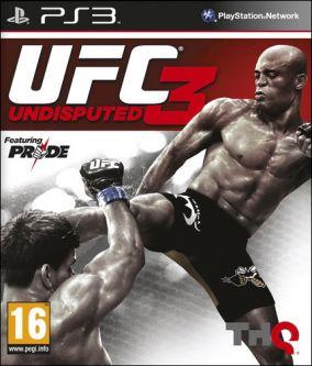 Copertina del gioco UFC Undisputed 3 per PlayStation 3