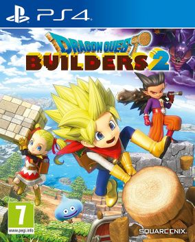 Copertina del gioco Dragon Quest Builder 2 per PlayStation 4