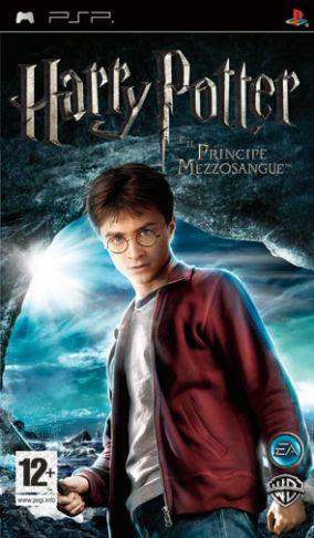 Immagine della copertina del gioco Harry Potter e il Principe Mezzosangue per PlayStation PSP
