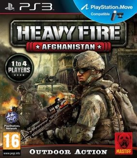 Copertina del gioco Heavy Fire: Afghanistan per PlayStation 3