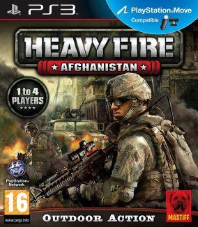 Immagine della copertina del gioco Heavy Fire: Afghanistan per PlayStation 3