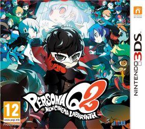 Immagine della copertina del gioco Persona Q2: New Cinema Labyrinth per Nintendo 3DS