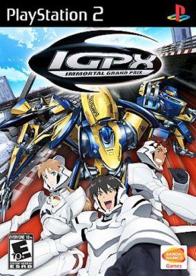 Copertina del gioco IGPX: Immortal Grand Prix per PlayStation 2