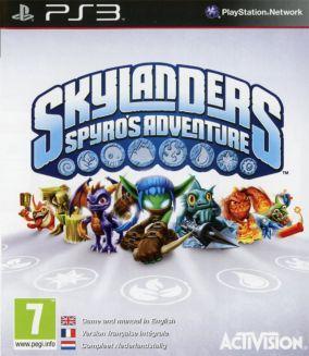 Copertina del gioco Skylanders Spyros Adventure per PlayStation 3