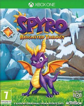 Immagine della copertina del gioco Spyro Reignited Trilogy per Xbox One