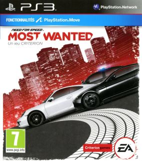 Copertina del gioco Need for Speed: Most Wanted per PlayStation 3