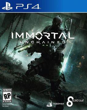 Immagine della copertina del gioco Immortal: Unchained per PlayStation 4