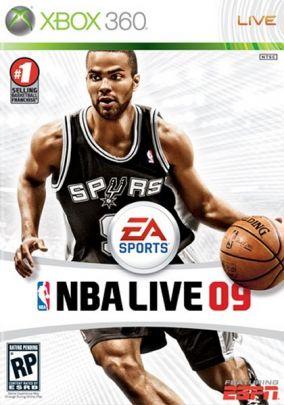 Copertina del gioco NBA Live 09 per Xbox 360