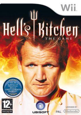 Immagine della copertina del gioco Hell's Kitchen: The Video Game  per Nintendo Wii