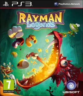 Copertina del gioco Rayman Legends per PlayStation 3