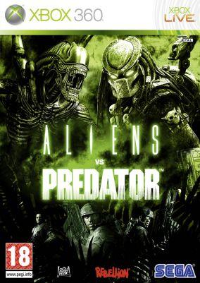 Copertina del gioco Aliens vs Predator per Xbox 360