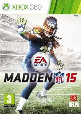 Copertina del gioco Madden NFL 15 per Xbox 360