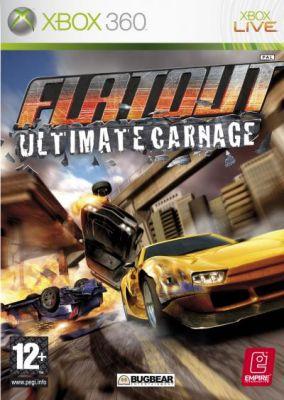 Copertina del gioco Flat Out Ultimate Carnage per Xbox 360
