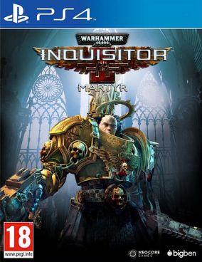 Copertina del gioco Warhammer: Inquisition - Martyr per Playstation 4