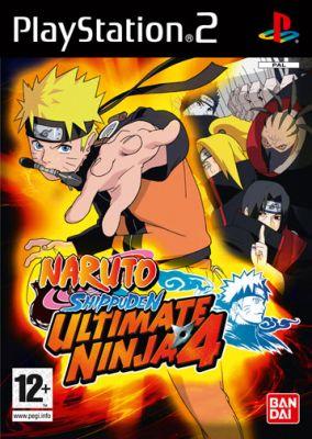 Immagine della copertina del gioco Naruto Shippuden : Ultimate Ninja 4 per PlayStation 2