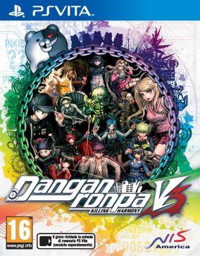 Immagine della copertina del gioco Danganronpa V3: Killing Harmony per PSVITA