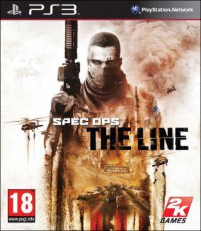 Copertina del gioco Spec Ops: The Line per PlayStation 3