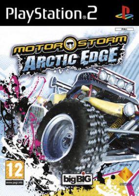 Copertina del gioco MotorStorm: Arctic Edge per PlayStation 2