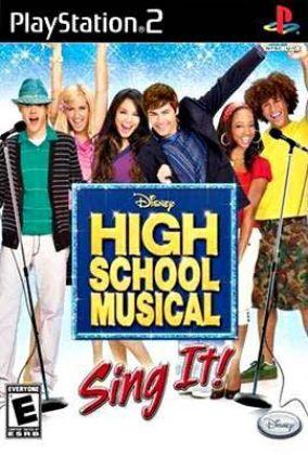 Immagine della copertina del gioco High School Musical: Sing It! per PlayStation 2