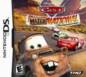 Immagine della copertina del gioco Cars: La Coppa Internazionale di Carl Attrezzi per Nintendo DS