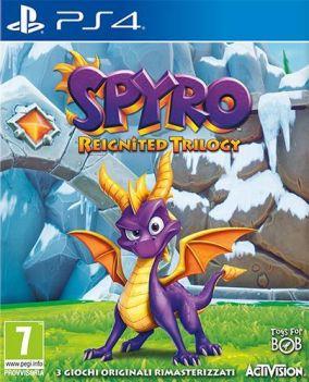 Immagine della copertina del gioco Spyro Reignited Trilogy per PlayStation 4